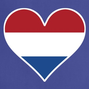 Dutch Flag Heart - Adjustable Apron