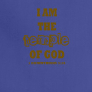I am the Temple of God - Adjustable Apron