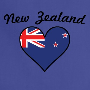 New Zealand Flag Heart - Adjustable Apron