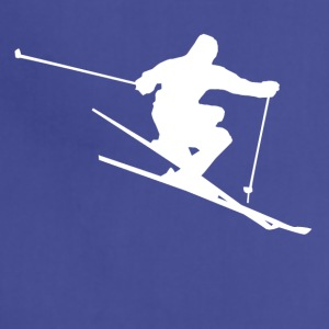 Skier Silhouette Skiing - Adjustable Apron