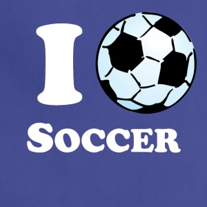 I Heart Soccer - Adjustable Apron