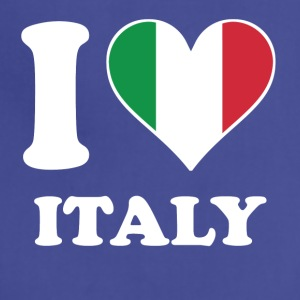 I Love Italy Italian Flag Heart - Adjustable Apron