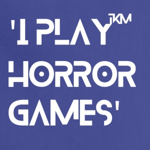 'I Play Horror Games' - Adjustable Apron