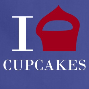 I love CUPCAKES - Adjustable Apron