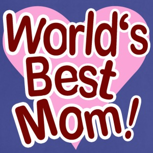 World s Best Mom - Adjustable Apron