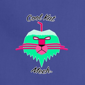 Cool Kat Mech. (Neon Glow) - Adjustable Apron
