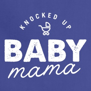 Knocked Up Baby Mama Tee - Adjustable Apron