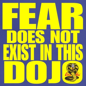 Fear Does Not Exist in this Dojo - Adjustable Apron