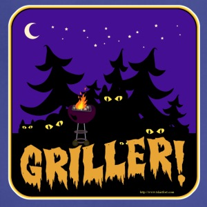 Beware the Griller! - Adjustable Apron
