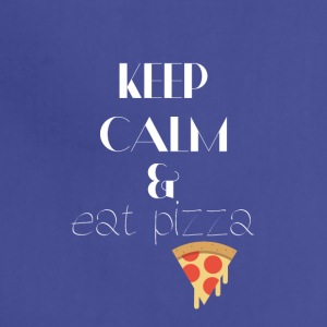Keep calm and eat pizza - Adjustable Apron