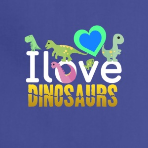 I love Dinosaurs - Adjustable Apron