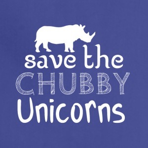 Save the chubby unicorns - Adjustable Apron