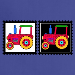 stamps with tractors - Adjustable Apron