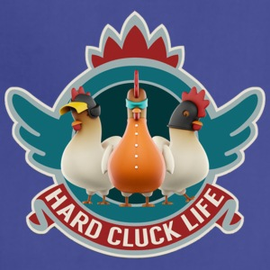 Hard Cluck Life - Adjustable Apron