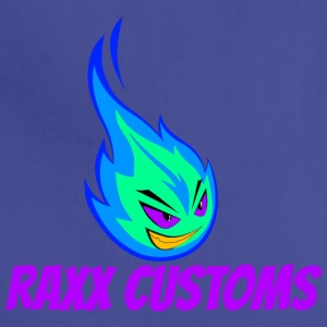 Fire RAXX CUSTOMS logo green and blue - Adjustable Apron