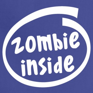 zombie inside (1840B) - Adjustable Apron