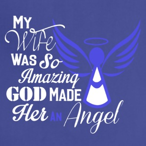My Wife Is An Angel Shirt - Adjustable Apron