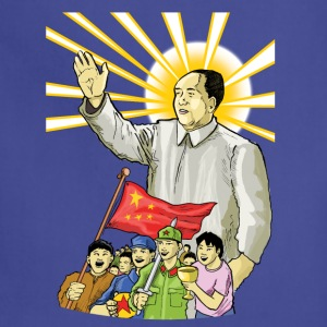 Mao Waves to the People - Adjustable Apron