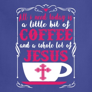 Coffee Jesus Tee Shirt - Adjustable Apron