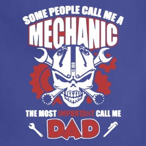 Mechanic Dad Tee Shirt - Adjustable Apron