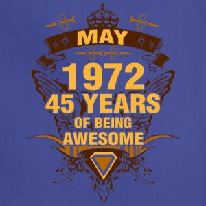 May 1972 45 Years of Being Awesome - Adjustable Apron