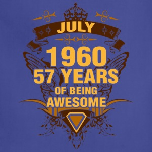 July 1960 57 Years of Being Awesome - Adjustable Apron