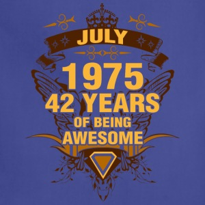 July 1975 42 Years of Being Awesome - Adjustable Apron