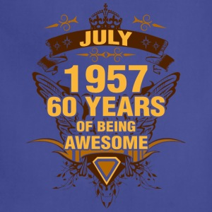 July 1957 60 Years of Being Awesome - Adjustable Apron