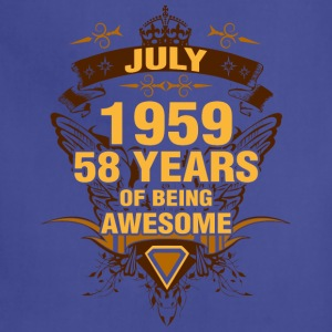 July 1959 58 Years of Being Awesome - Adjustable Apron