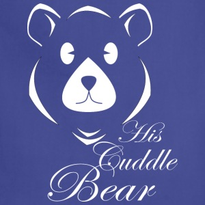 His Cuddle Bear - Adjustable Apron