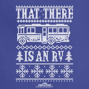 Christmas Vacation RV Faux Sweater T-Shirt - Adjustable Apron