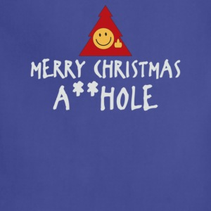 MERRY CHRISTMAS AHOLE - Adjustable Apron