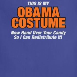 This Is My Obama Costume Anti Obama Halloween - Adjustable Apron