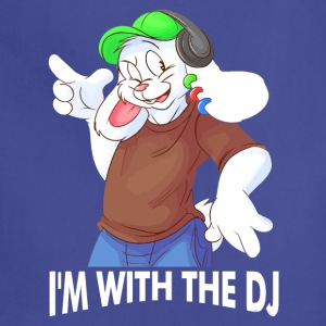 I'm With The DJ Fun - Adjustable Apron
