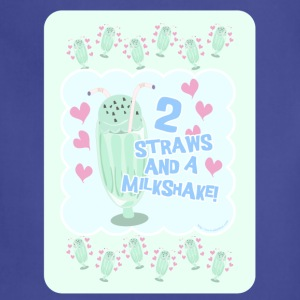 Two Straws and A Milkshake - Adjustable Apron