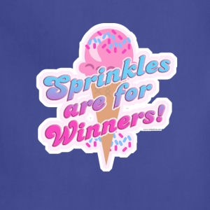 Sprinkles Are For Winner! - Adjustable Apron