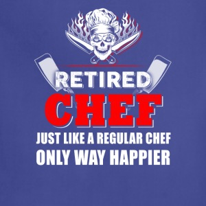 Retired Chef T-Shirts - Adjustable Apron
