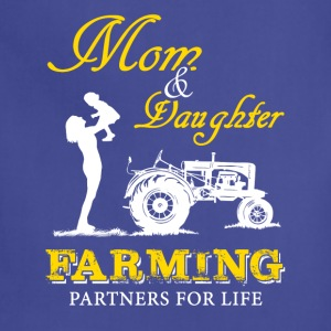 Mom and Son Farmer T Shirts - Adjustable Apron