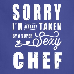 By a super sexy Chef T-Shirts - Adjustable Apron
