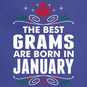 The Best Grams Are Born In January - Adjustable Apron