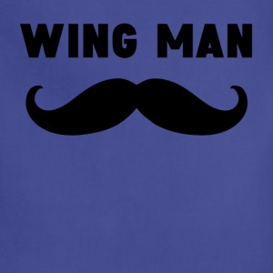 Wing Man Mustache - Adjustable Apron