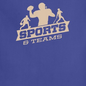 Sports and teams - Adjustable Apron