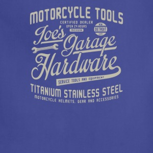 Motorcycle tools goes grage hardware - Adjustable Apron