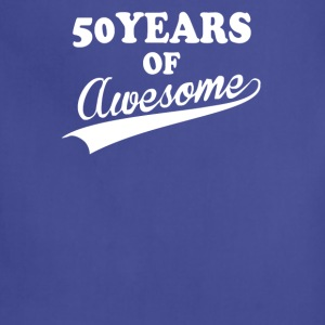 50Years of AWESOME - Adjustable Apron