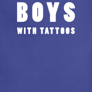 BOYS WITH TATTOOS - Adjustable Apron