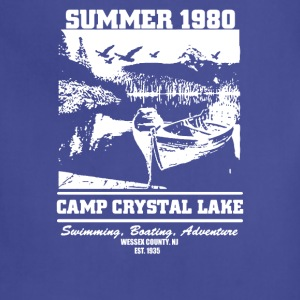 Camp Crystal Lake Summer 1980 Funny - Adjustable Apron