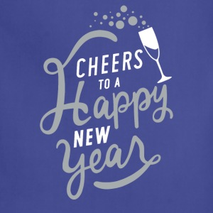 Cheers To A Happy New Year - Adjustable Apron
