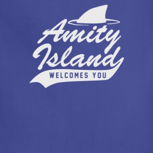 Amity Island Welcome You Cyber System - Adjustable Apron
