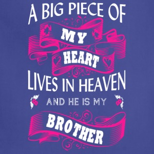 He Is My Brother T Shirt - Adjustable Apron