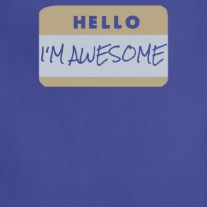 Hello i-m awesome - Adjustable Apron